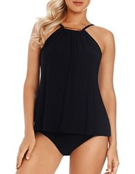 Magic Suit By Miraclesuit Marni Tankini Top Black