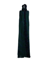 Emilio Pucci Long Dresses Dark Green