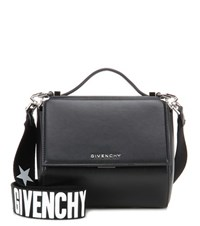 Givenchy Pandora Box Mini Leather Shoulder Bag Black