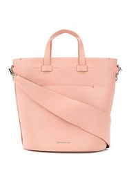 Troubadour Contour Oval Bag Pink