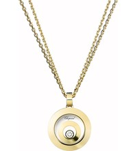 Chopard Happy Spirit 18Ct Yellow Gold And Diamond Pendant