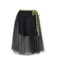 Marc Jacobs Tulle Wrap Skirt Black