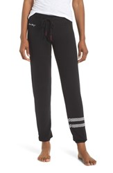 Pj Salvage Peachy Jogger Lounge Pants Black