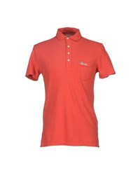 Denim And Supply Ralph Lauren Topwear Polo Shirts Men Rust