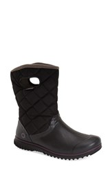 Women's Bogs 'Juno' Waterproof Quilted Snow Boot Black