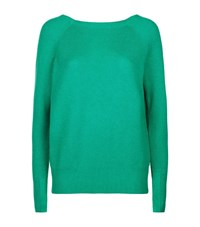 Maje Moon Cross Over Back Jumper Female Green