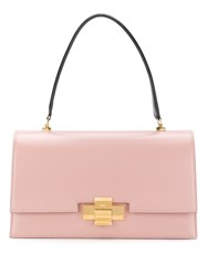 N 21 No21 Foldover Top Tote Bag Pink And Purple