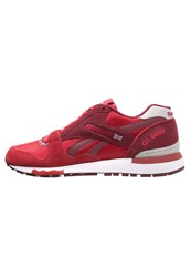 Reebok Classic Gl 6000 Athletic Trainers Power Red Collegiate Burgundy Steel White