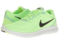 Nike Free Rn Ghost Green Black Fresh Mint Off White Women's Running Shoes