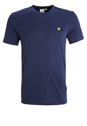 Lyle And Scott Peters Basic Tshirt Navy Dark Blue