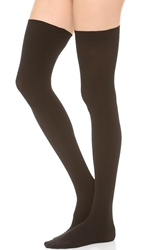 Commando Up All Night Thigh Highs Black
