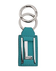 Lancel Key Rings Turquoise