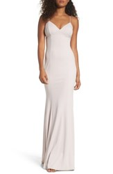Katie May Women's Stretch Crepe Gown Ballet
