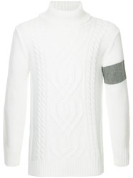 Guild Prime Cable Knit Sweater White
