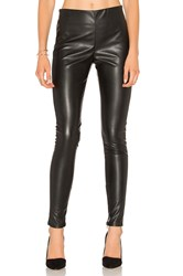 Velvet By Graham And Spencer Berdine Faux Leather Legging Black