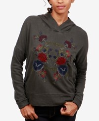 Lucky Brand Embroidered Hoodie Lucky