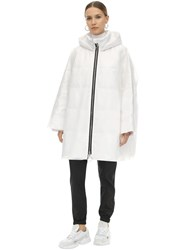 Ienki Ienki Pyramide Cropped Down Jacket White