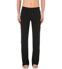 Ralph Lauren Jersey Jogging Bottoms Black