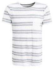 Tom Tailor Denim Print Tshirt Slightly Creamy Off White