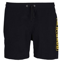 Barbour International Large Logo Swim Shorts Black