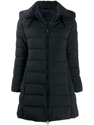 Tatras Feather Down Hooded Jacket Blue