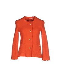 Sakura Coats And Jackets Jackets Women Rust