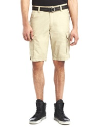 Kenneth Cole Hemmed Cargo Shorts Driftwood