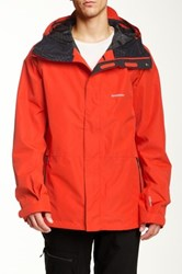Quiksilver Forever 15 Snow Jacket Red