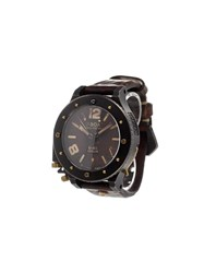 U Boat 'U 42 Unicum' Analog Watch Titanium