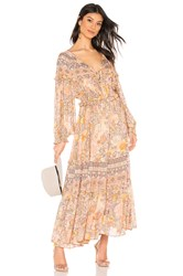 Spell And The Gypsy Collective Amethyst Gown Orange