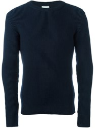 S.N.S. Herning Real Crew Neck Blue