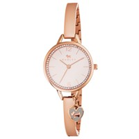 Radley Ry4268 Women's Love Lane Crystal Bracelet Strap Watch Rose Gold Blush