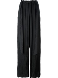 Cedric Charlier Cedric Charlier Wide Leg Trousers Black