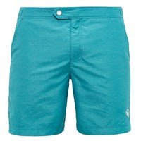 Ted Baker Pinox Oxford Swim Shorts Teal