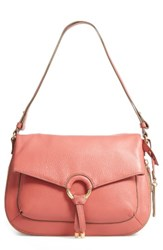 Vince Camuto Adina Leather Shoulder Crossbody Bag Pink Vintage Rose