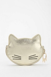 Cooperative Kitty Zip Pouch Gold