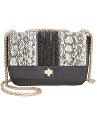 Inc International Concepts Mariin Crossbody Only At Macy's Black White