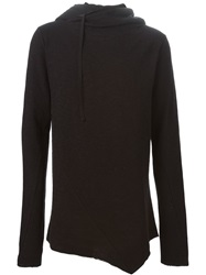 Thom Krom Hooded Sweater Black
