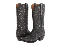 Lucchese M4842 Black Cowboy Boots