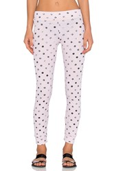 Stateside Polka Dot Thermal Legging Blush