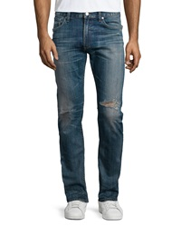 Citizens Of Humanity Bowery Slim Distressed Jeans Homer Indigo