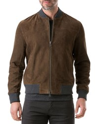 Rodd And Gunn Carter's Mill Suede Jacket Brown
