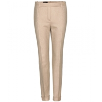 Loro Piana Jari Stretch Cashmere Trousers Beige