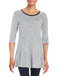 Kensie Knit Tunic Seagull