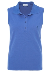 Golfino The Sun Protection Polo Shirt Riviera Blue