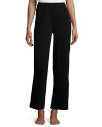Christopher Fischer Cashmere Wide Leg Knit Pants Black