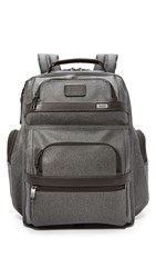 Tumi T Pass Business Class Brief Backpack Earl Grey