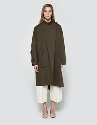 Christophe Lemaire Overcoat In Grey