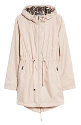 Gallery Packable Hooded Anorak Rose Blush