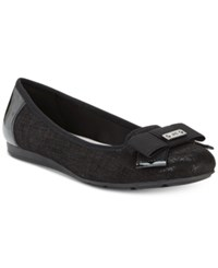 Anne Klein Alivia Slip On Ballet Flats Black